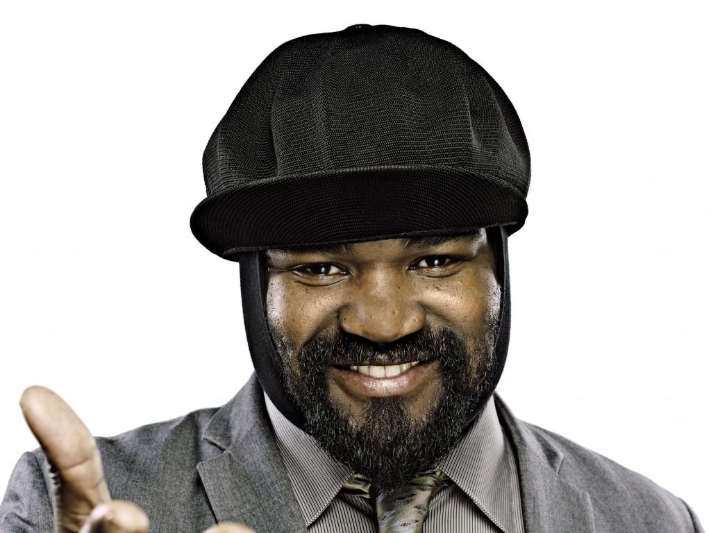 Gregory Porter med hatten